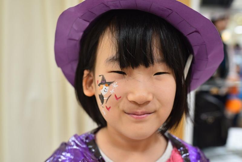 広島フェイスペイント組合-ハロウィンキッズ2019-11