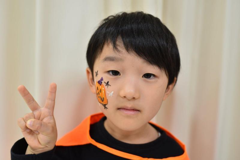 広島フェイスペイント組合-ハロウィンキッズ2019-31