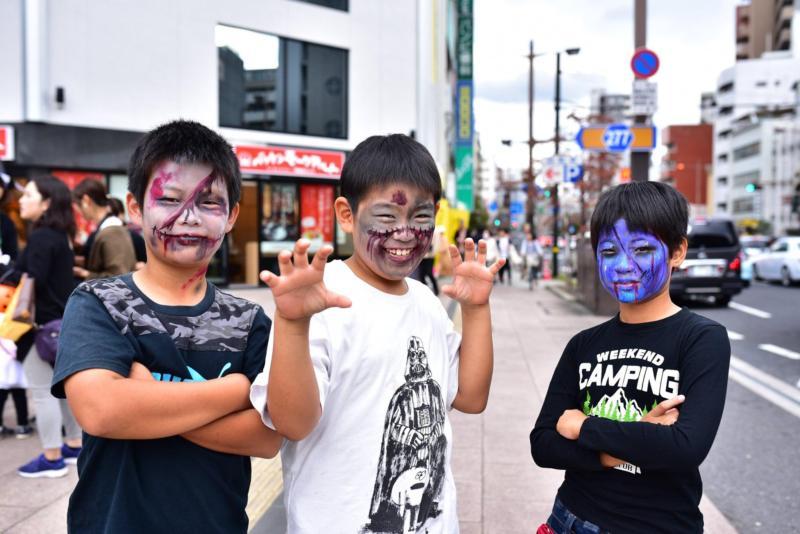 広島フェイスペイント組合-横川ゾンビナイト5-2日目-034