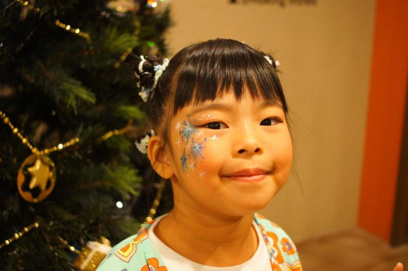 広島フェイスペイント組合-バックパッカーズ宮島クリスマスパーティー-02