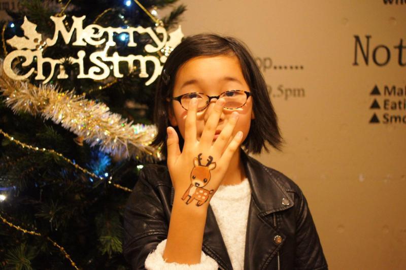 広島フェイスペイント組合-バックパッカーズ宮島クリスマスパーティー-09